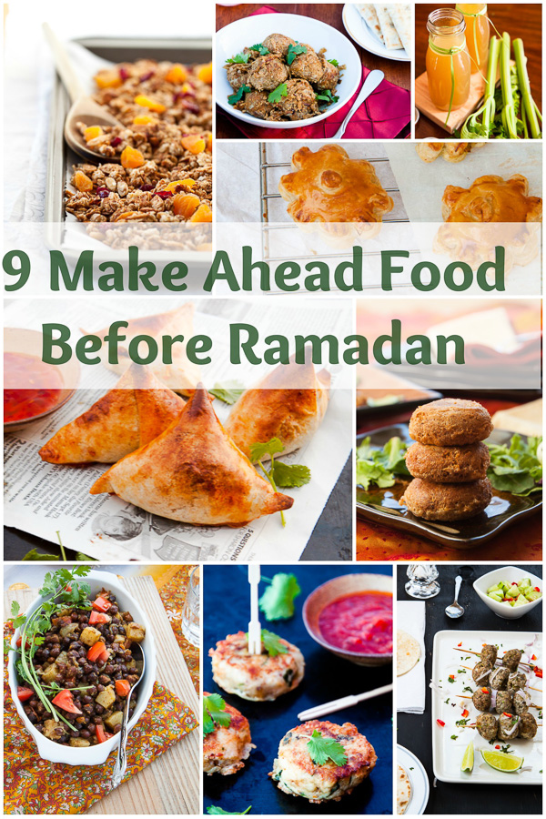 9 Foods to Make Ahead of Ramadan | With A Spin