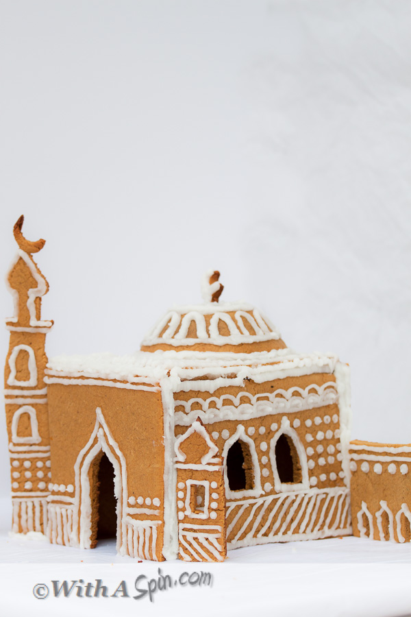 Gingerbread Masjid | Copyright © With A Spin