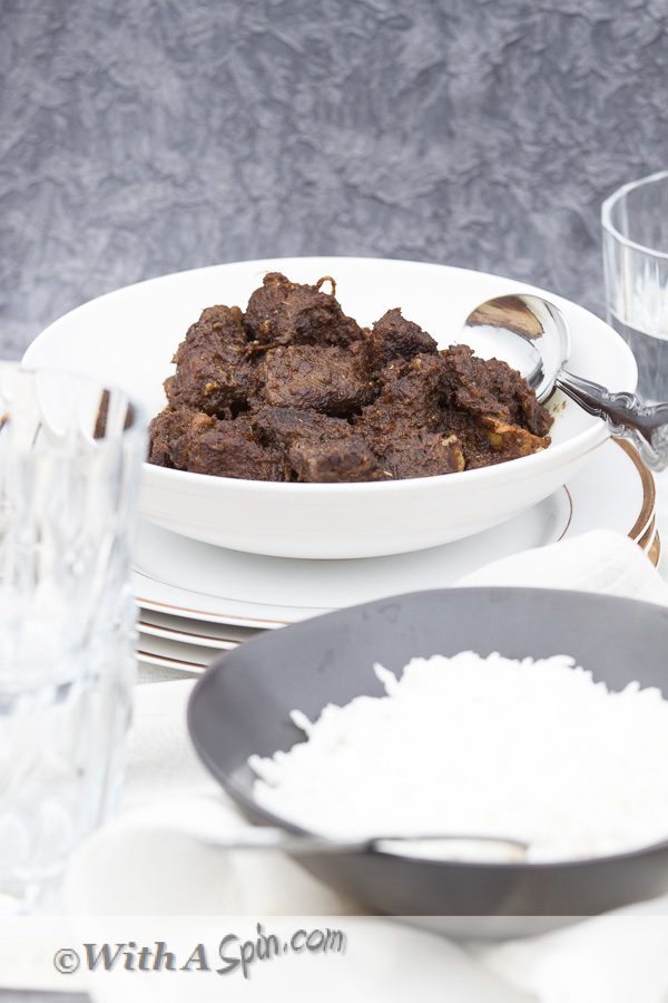 Beef curry for Eid al Adha | Copyright © With A Spin